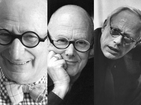 Wally Olins, Michael Wolff and Dieter Rams
