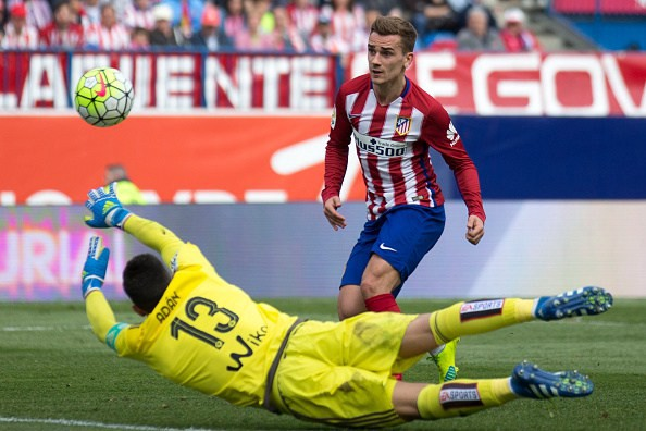 Griezmann Atleti Getty