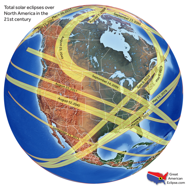 Future Solar Eclipses In The 21st Century – Andrea – Medium