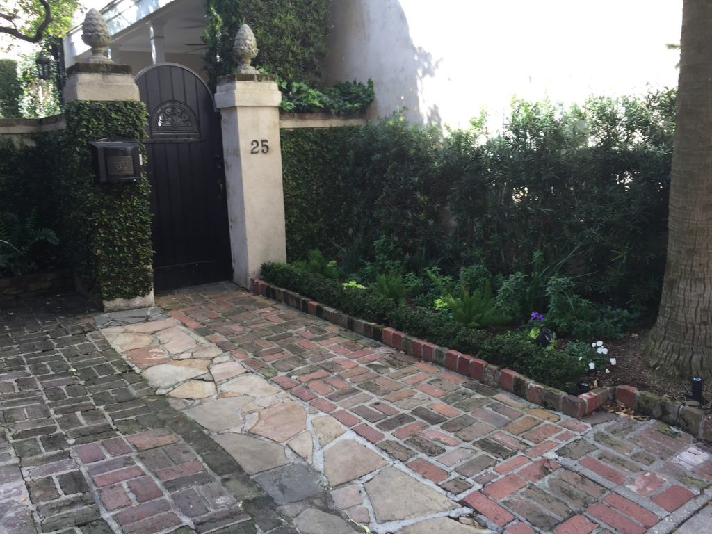 alternative pavers on a driveway