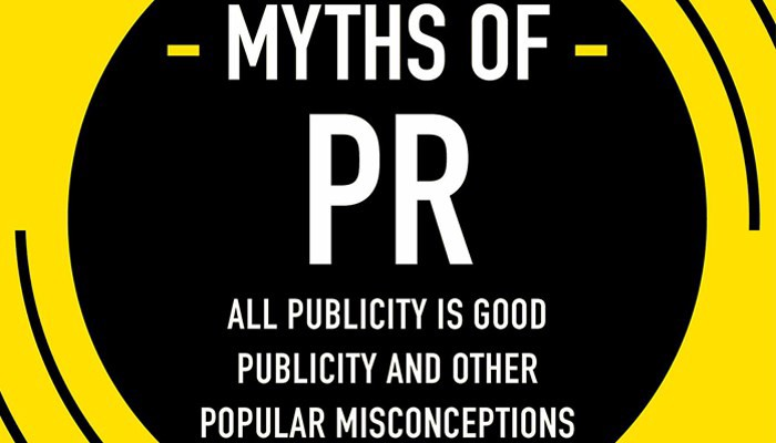 myths of pr book cover