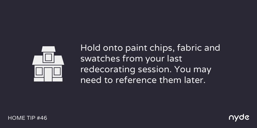 Home Tip #46
