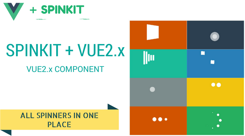 Spinkit Loading Component with Vue2.x