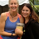 Phebe & Jane Esselstyn in upstate N.Y. on the Esselstyn family farm.