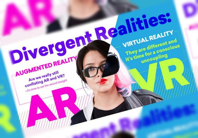 Divergent Realities: Augmented vs Virtual Reality [Infographic]