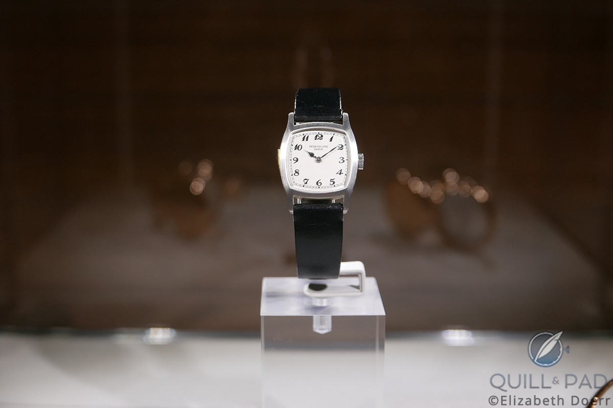 Ralph Teetor, inventor of the cruise control, owned this watch, which is the first Patek Philippe minute repeating wristwatch