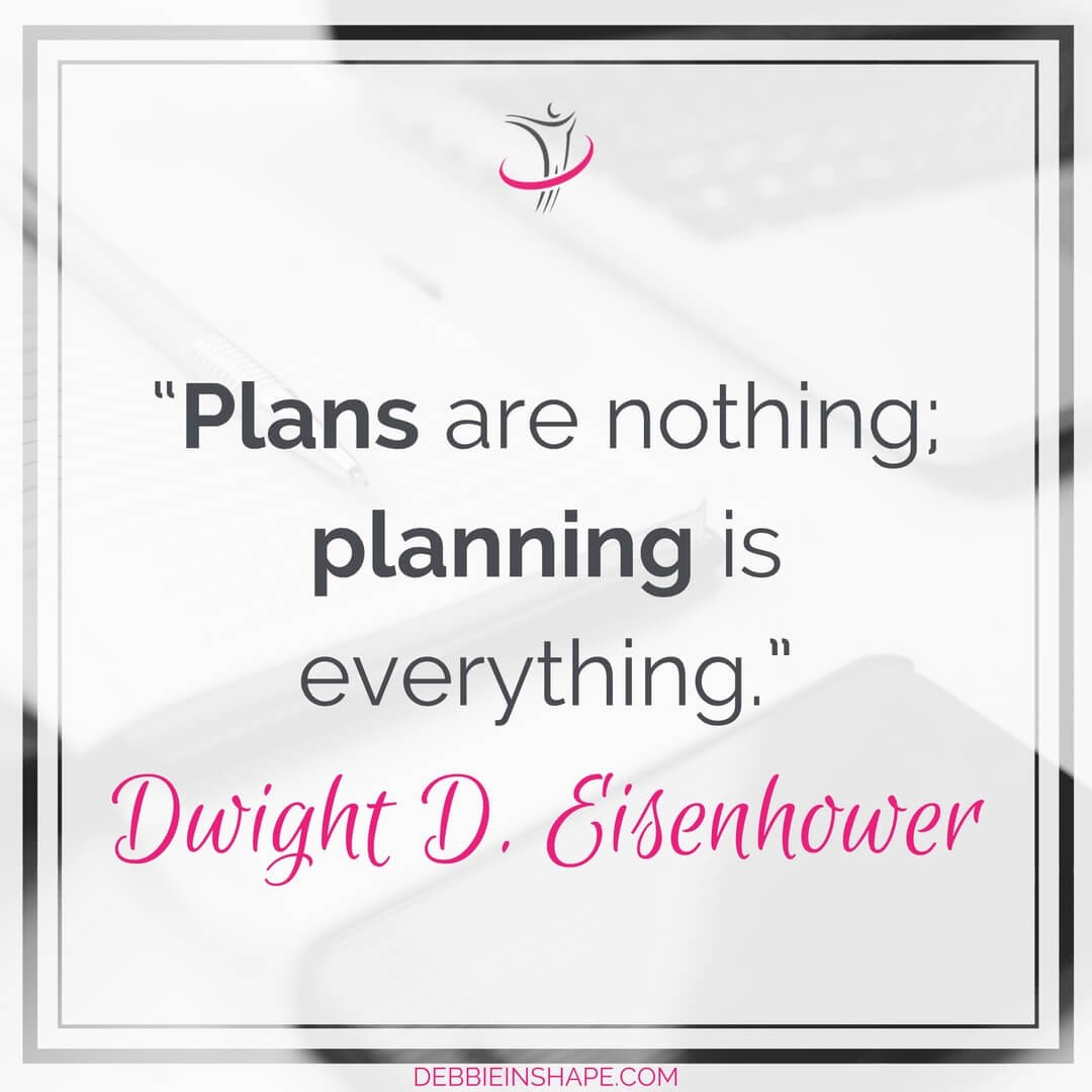 """""""Plans are nothing; planning is everything."""" - Dwight D. Eisenhower"""