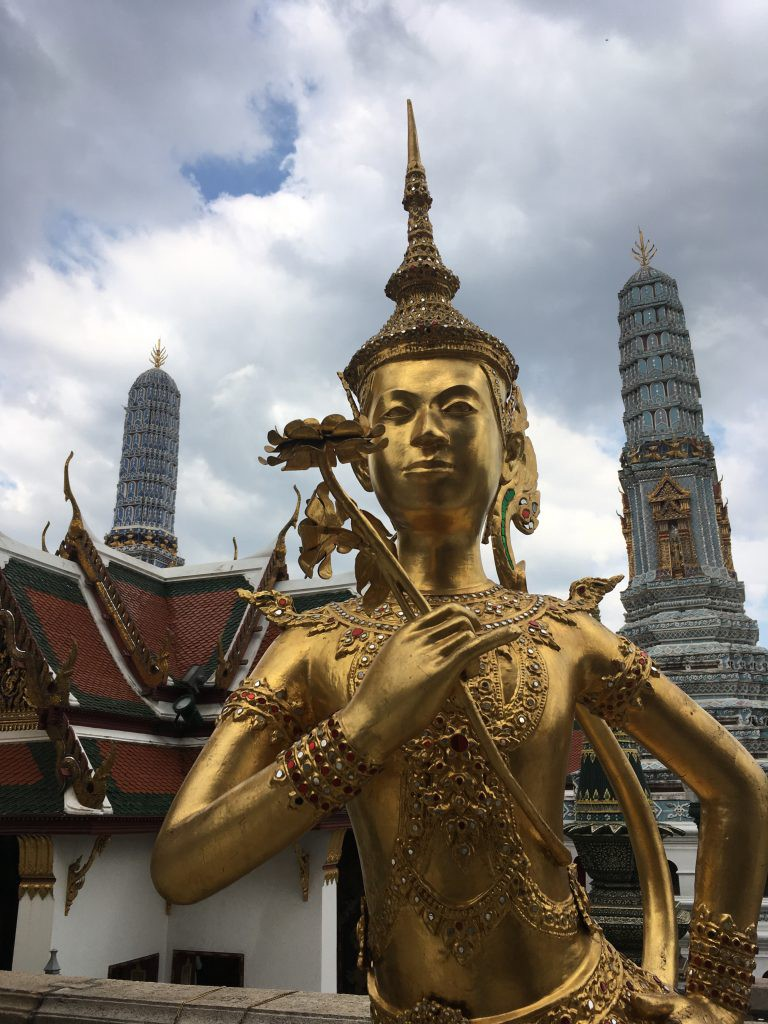 The marvel of the Thai Royal Palace remember to wear cover your knees and elbows)