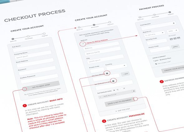 Simplified-Checkout-Process-by-Michael-Pons---Dribbble