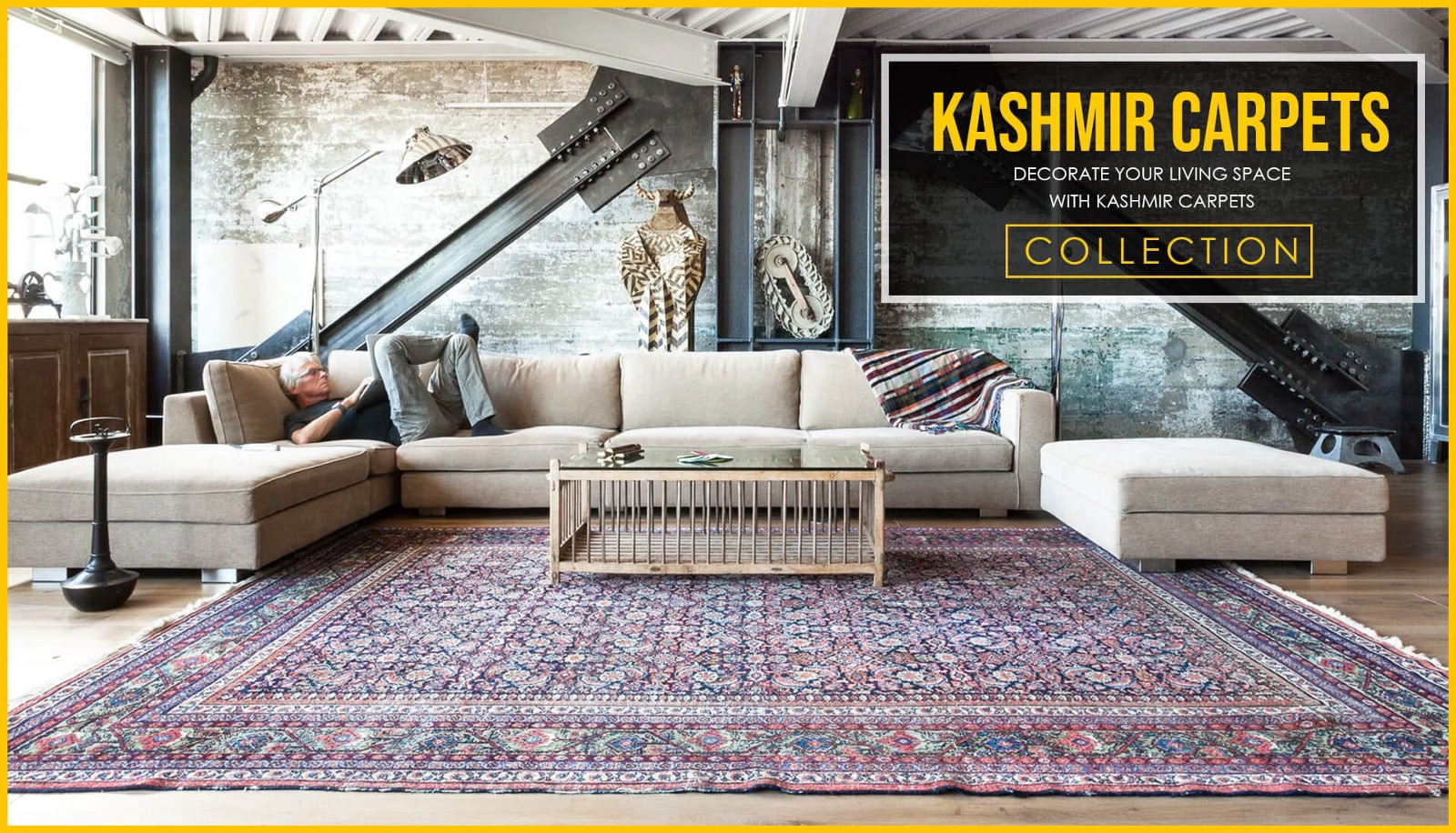 The Kashmiri Carpet Has Its History Around World And It Is Famous For Rich Unique Designs As A Treasure