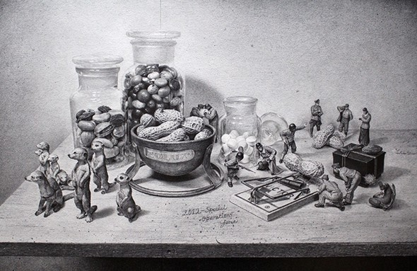 Pencil-drawing-on-Behance