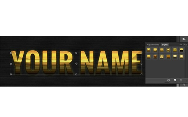 Photoshop Text Effect Cinematic 3d Actions Free
