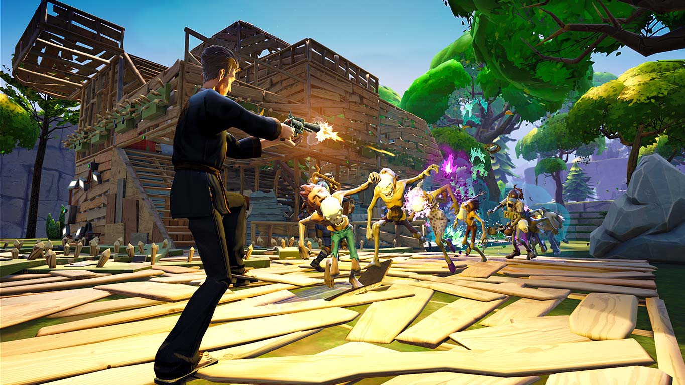 Fortnite Is A Potentially Great Survival Game That Enjoys Smacking