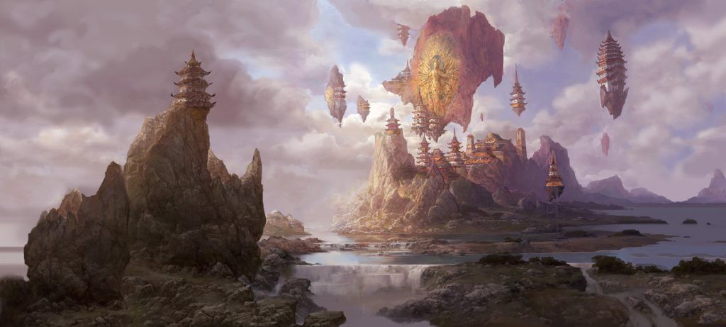 fenghua zhong the temple of god