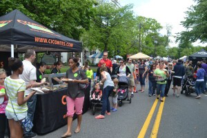 Sunday, May 18 was the sixth annual Taste of Evesham event. Hosted by the Evesham Celebrations Foundation, the event drew thousands of area residents to Main Street to sample food from local restaurants and eateries.