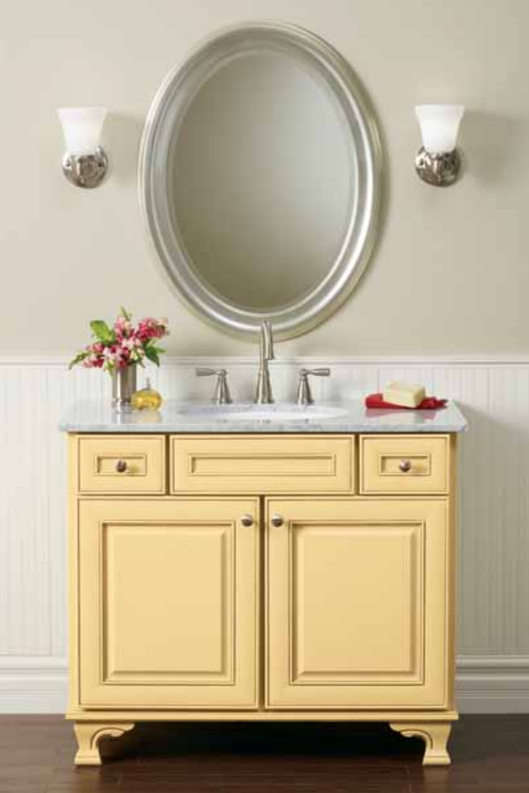 Bathroom sinks with options for everyone - Renewable Materials
