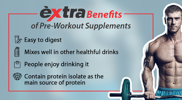 benefits of workout supplements People take these supplements to support muscle building on the  and  moreover many of these have translated into proven clinical benefits.
