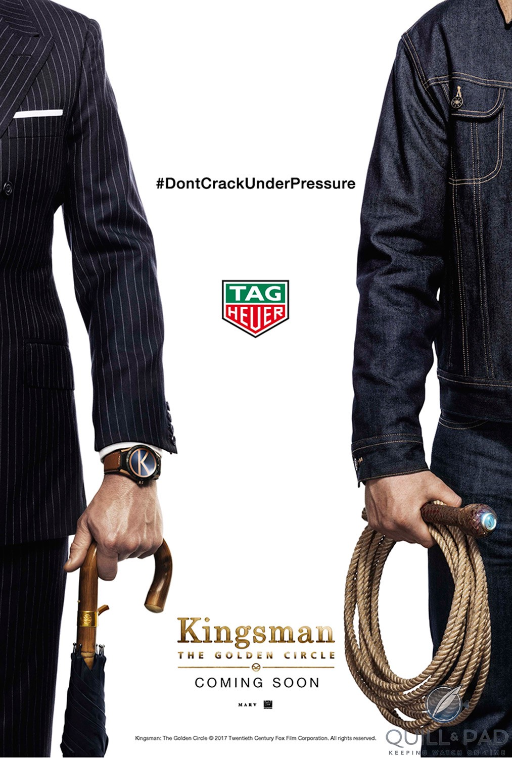 Sequel 'Kingsman: The Golden Circle' features the TAG Heuer Connected Modular 45