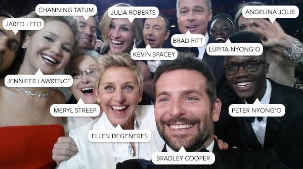 Ellen DeGeneres nabs most retweeted tweet of the year