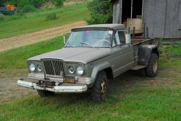 The Combination Of A 1 Ton Dually Chassis With A Pickup Bed Was Not Offered  From The Factory, But Getting One Built By A Jeep Dealer With ...
