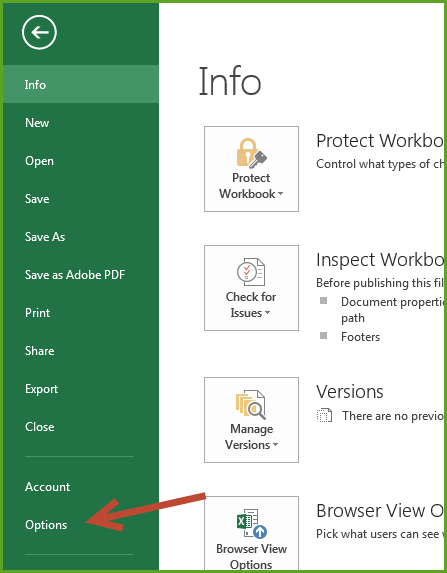 excel file opening in protected view