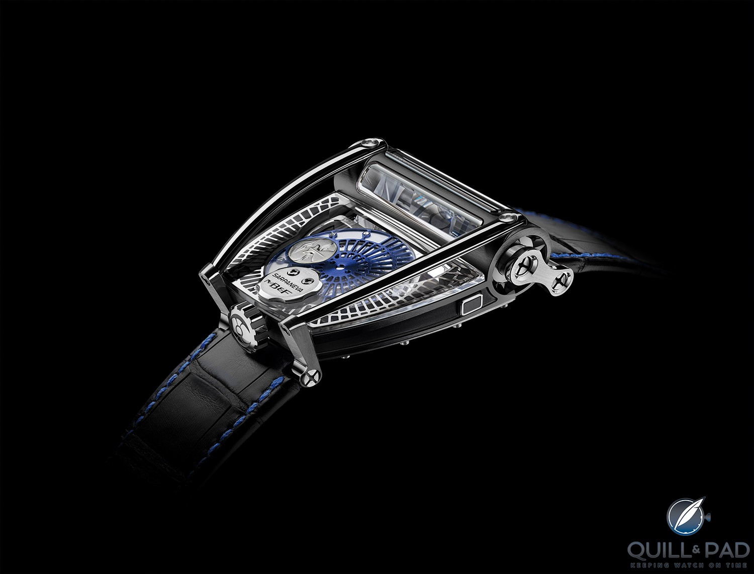 MoonMachine 2 in titanium by MB&F with Stepan Sarpaneva
