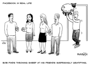 People don't really want to throw sheep
