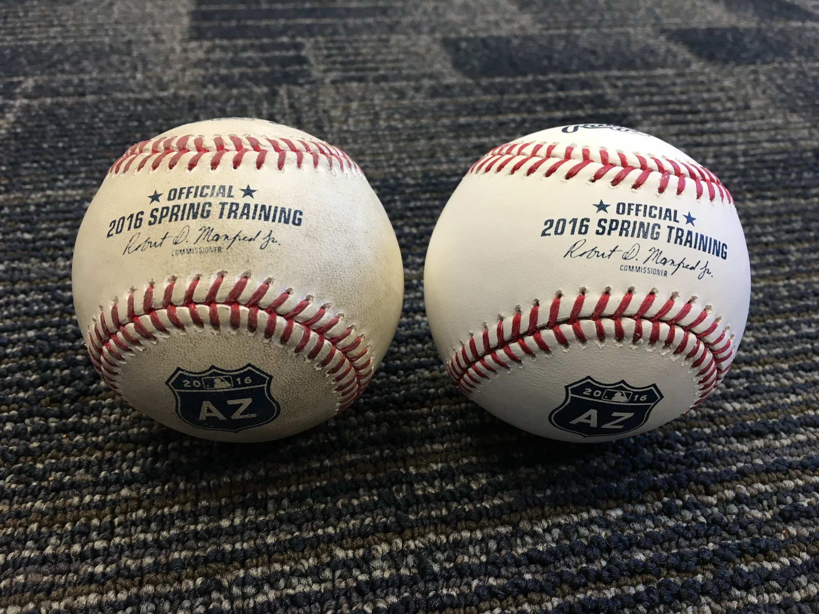 Mariners spring training update day 3 from the corner of edgar baseballs magic mud is used on every ball during spring training if you happen to catch a foul ball or home run during workouts odds are they were rubbed sciox Gallery