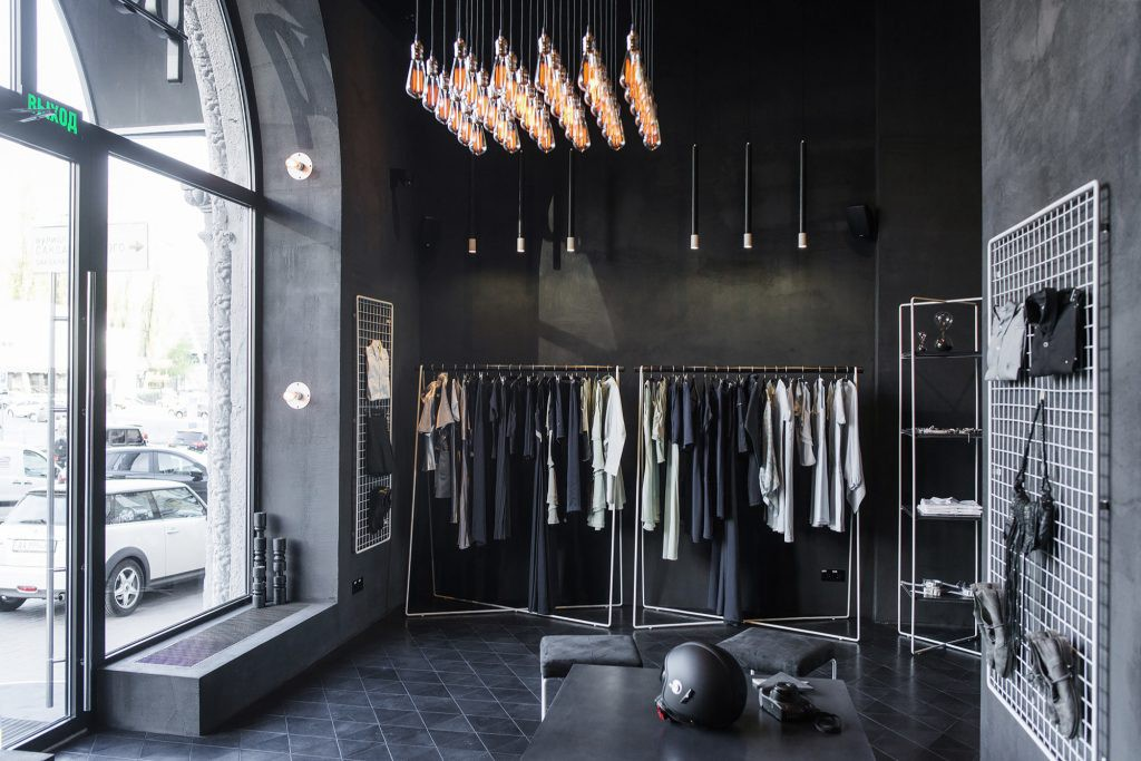 The Psychology of Retail Store Interior Design, Part 1: Color | black interior design
