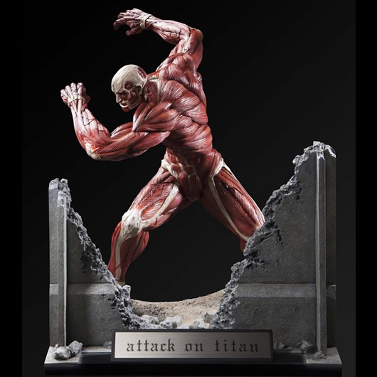Colossal Titan Ultimate Modeling Collection Figure by PLEX