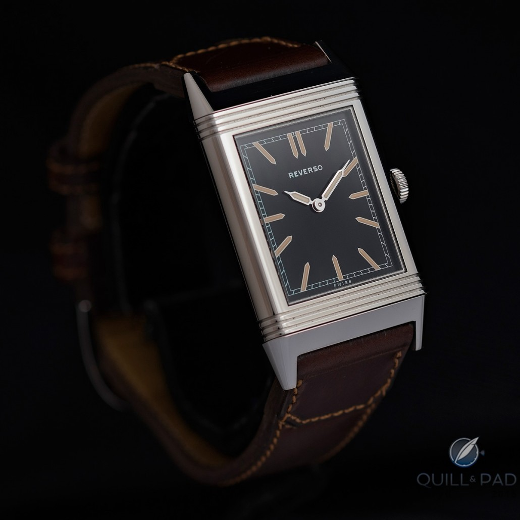 Lucky catch: the author's Jaeger-LeCoultre Tribute to Reverso 1931