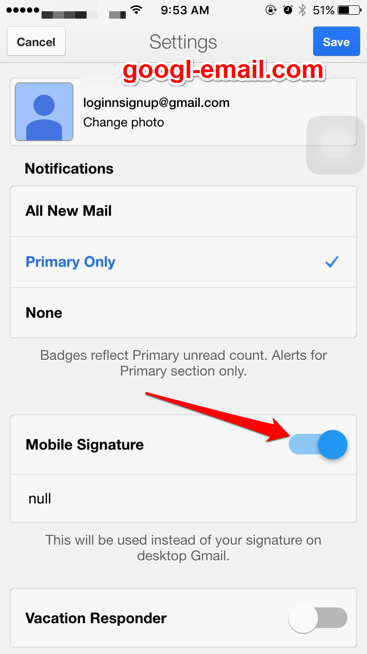 add a signature to gmail
