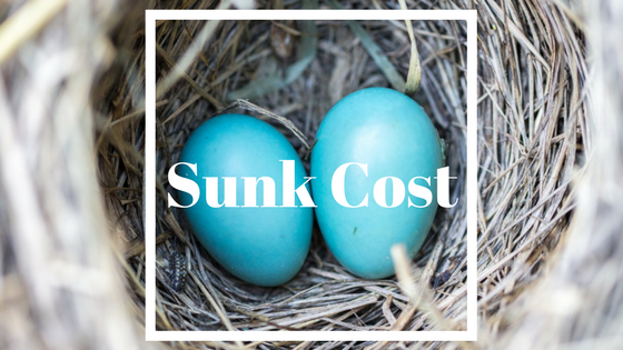 Sunk Cost explained (www.thementalfalconry.com)