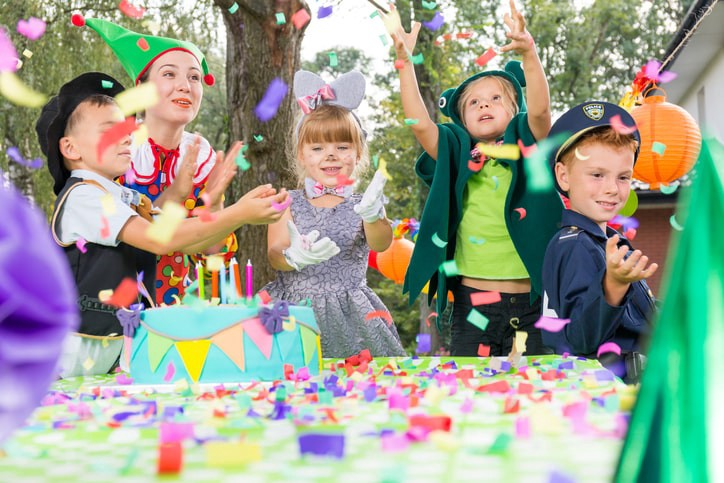 childrens birthday party planner small business idea