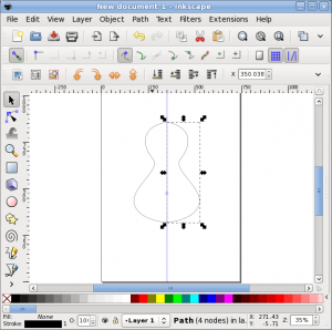 123 mirror modelling in inkscape indicatrix use the paint bucket tool to fill the area contained by the lines this will create a polygon that is symmetrical you can now either delete the polylines ccuart Choice Image