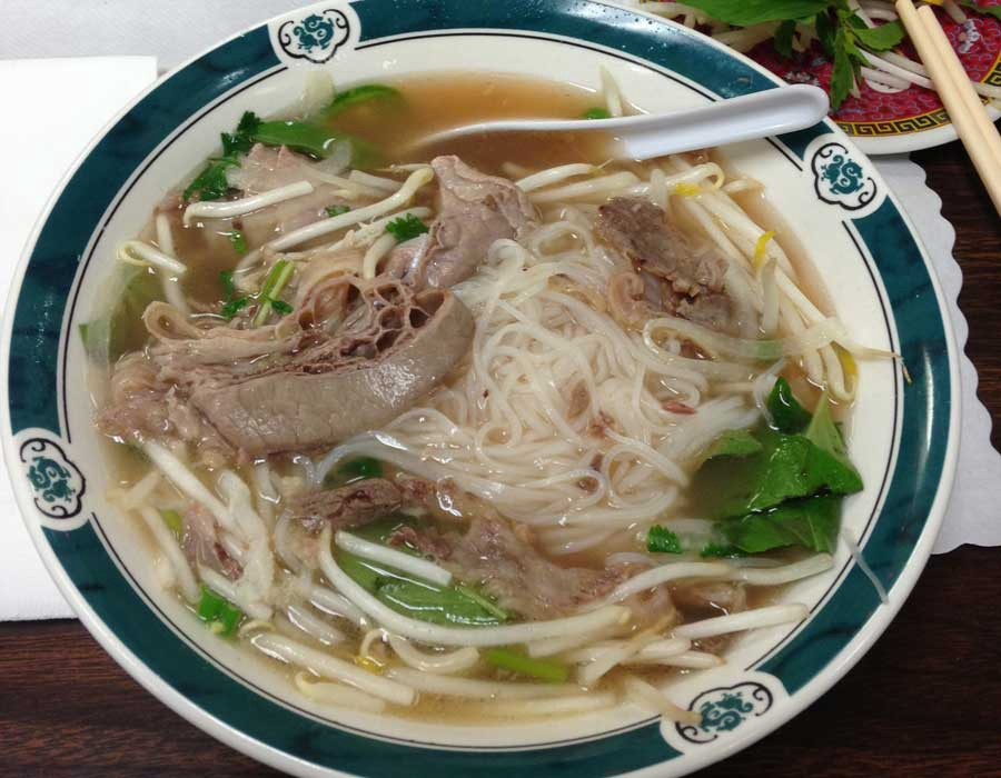 Pho Dac Biet At Golden Star Vietnamese Restaurant