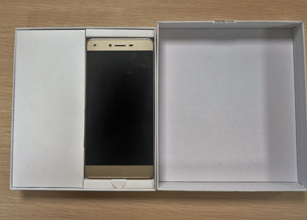 Unboxing Images Of The Tecno W5 Lite