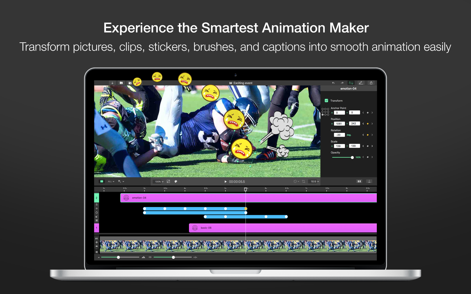 Experience the Smartest Animation Maker