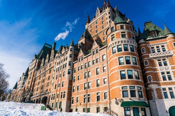 Exterior of the Frontenac