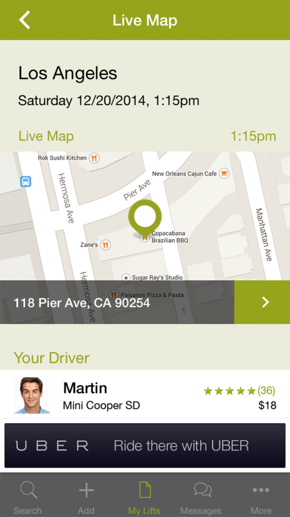 Carpooling just picked up Uber's API – Uber Developers