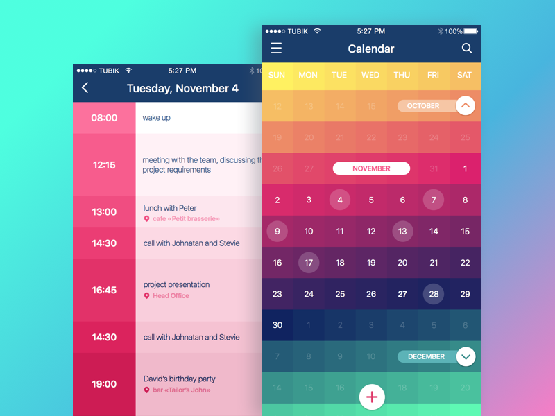 Color in UI Design. Look on the Bright Side – UX Planet