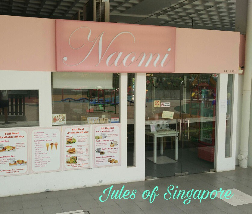 Naomi Kitchen café near Serangoon NEX Mall