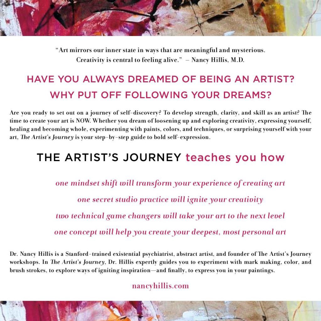 THE ARTISTS JOURNEY | Nancy Hillis MD