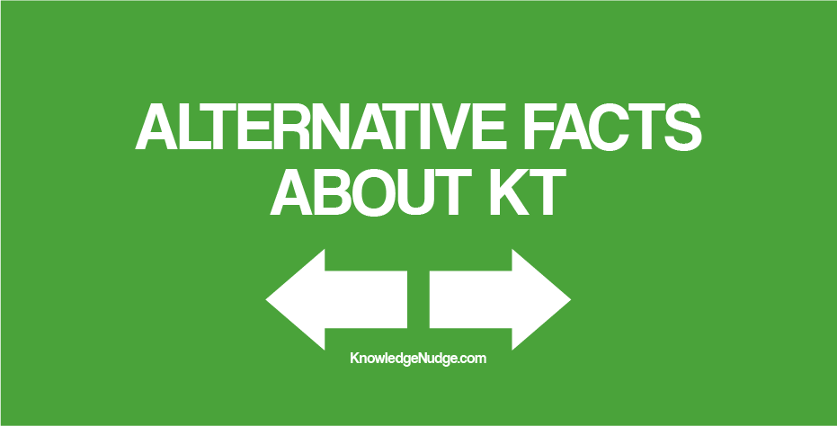 Alternative Facts About KT