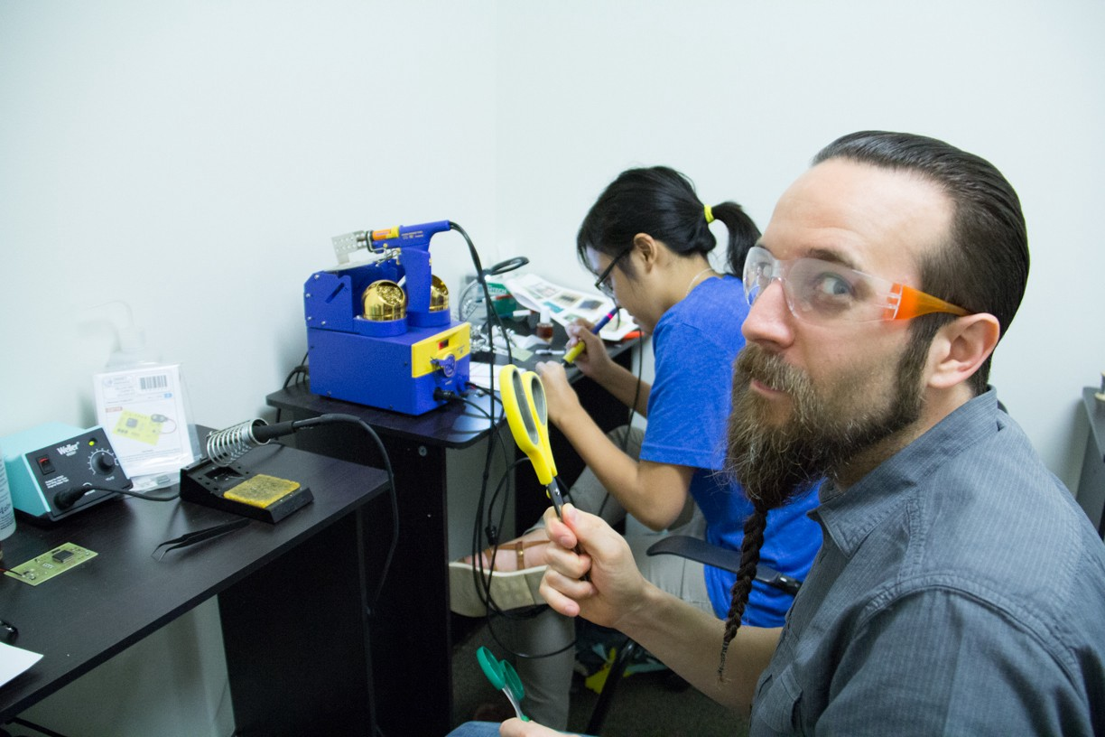 Danny Blacker is a teacher, engineering and 3D printing guru