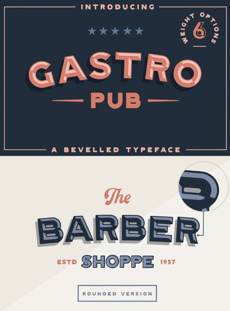 Gastro Pub - Type Family by Hustle Supply Co.