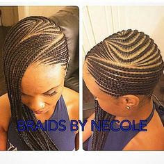 Cornrows Is A Style Of Braiding And Plaiting The Hair In Narrow Strips To Form Geometric Patterns On Scalp
