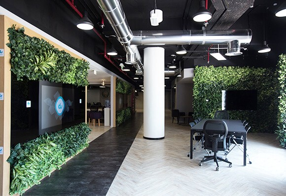 office landscaping ideas. Modren Office Read The Full Article On Planters Replicau0027s Blog  The Best Indoor Landscaping  Ideas For Your Office Using Artificial Plants To