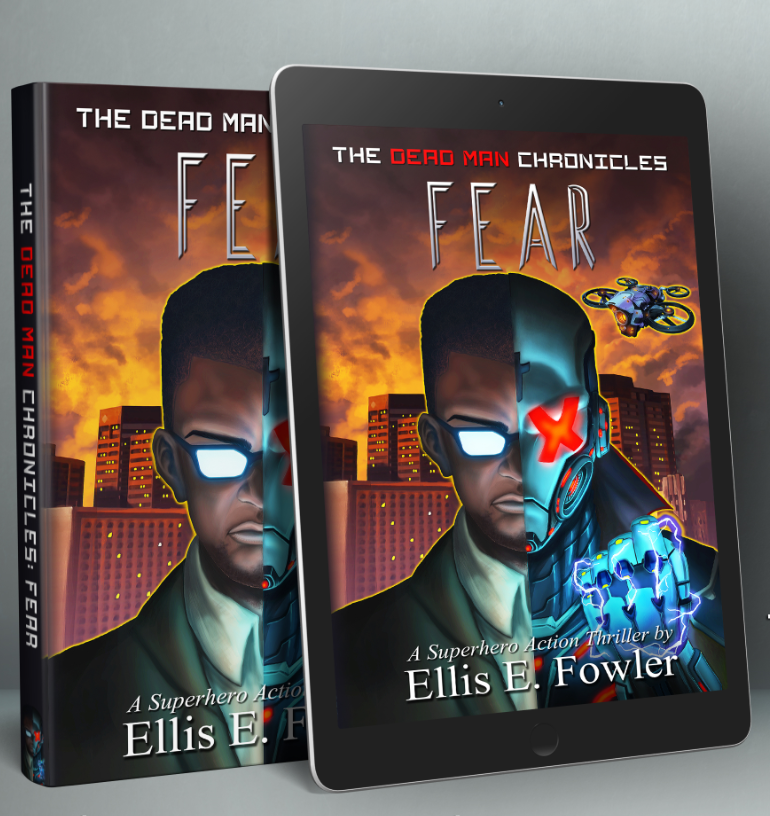 Book and ebook- The Dead Man Chronicles: Fear