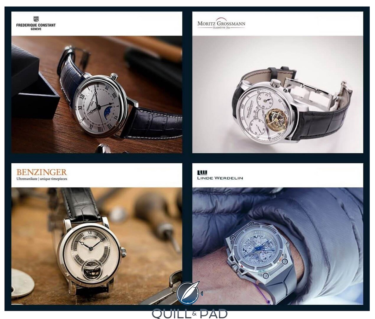 Chrono24 Boutique brands include Benzinger, Moritz Grossmann, Linde Werdelin and Frédérique Constant (more are sure to follow)